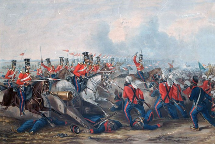 Charge-of-the-16th-Queens-Own-Lancers-at-the-Battle-of-Aliwal-January-28th-1846-Martens