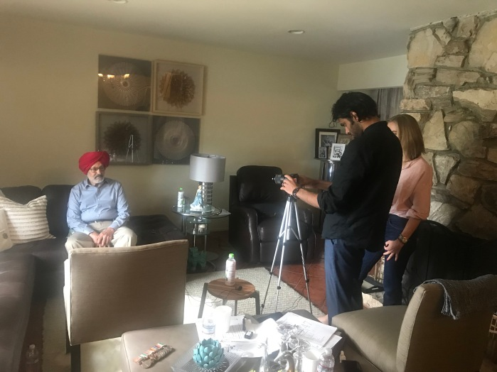 Interview by Sufiyan Siddiqui & Lindsay Eriksson-Siddiqui (for1947 Partition Archive.com)